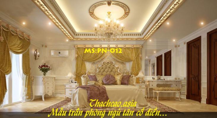 Trần phòng ngủ PN012