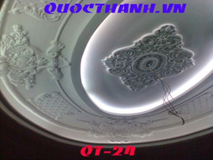 Mẫu trần nhà bằng thạch cao đẹp - 06