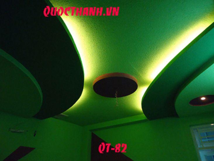 Mẫu trần nhà bằng thạch cao đẹp - 08