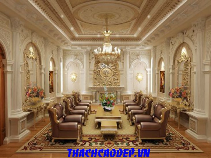 nội thất tổng hợp, phòng khách mang phong cách Italy